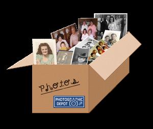 Shoebox Scan of Photographs